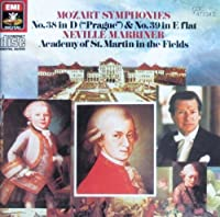 "Symphonies 38 "" Prague "" & 39"