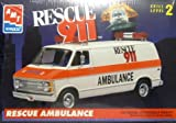 amt 1/25 Dodge Van Rescue Ambulance Rescue911 ダッジバン