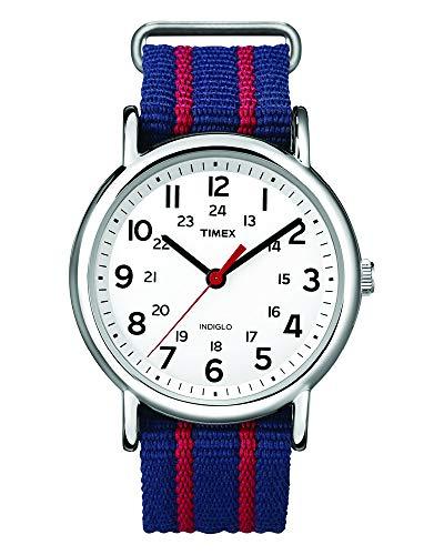 [タイメックス]TIMEX ウィークエンダー セントラルパーク ホワイト×ネイビー/レッド T2N747 【正規輸入品】