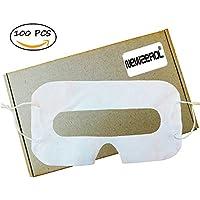Newzerol VRマスク ゴーグル用 汚れ防ぎ 使い捨て100枚入り 体験用 即用式 VR アイマスク