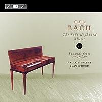 C.P.E.バッハ : 鍵盤独奏曲全集Vol.25 (C.P.E.Bach : The Solo Keybord Music Vol.25 Sonatas from 1740-47 / Miklos Spanyi (clavichord)) [輸入盤]