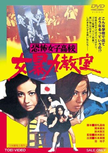恐怖女子高校 女暴力教室 [DVD]