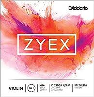 D'Addario ダダリオ バイオリン弦 Zyex セット DZ310A 4/4M Medium Tension 【国内正規品】