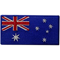 Australia Flag Embroidered Patch Australian Iron On Sew On National Emblem
