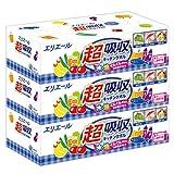 エリエール キッチンペーパー 超吸収 キッチンタオル ボックス 75組×3箱 パルプ100%