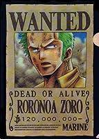 『ONE PIECE ANIMATION 10th ANNIVERSARY』ローソンオリジナル ワンピース クリアファイル 【2.ロロノア・ゾロ】(食玩)