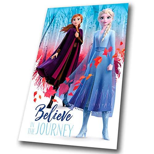 4590 ディズニー アナと雪の女王2 フリース ブランケッ...