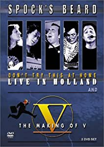 Don't Try This Home: Live / Making of V [DVD] [Import]