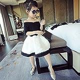 NIKE ポロシャツ Spritech ( TM )ベビー女の子夏ストラップレスドレスバブルスカートボールパーティーチュチュドレス Size:5 for heigth95cm CLS-0004-0117