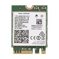 WIFIカード Bluetooth WIFIカード Intel 8265NGWネットワークカード 高速ネットワーク速度 最大867 Mbps 広い通信範囲 耐腐食性 耐磨耗性 耐久性 効率的