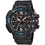 [カシオ]CASIO 腕時計 G-SHOCK SKY COCPIT スカイコックピット GW-A1100-2A ブラック×ブルー メンズ [逆輸入モデル]