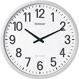 キングジム 電波掛け時計 ザラージ ホワイト GDK-001