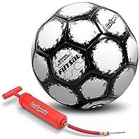 GoSports Futsal Ball withプレミアムポンプ – 規定サイズと重量( 1つ選択ボールまたは6パックwithメッシュバッグ