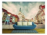 "wall26 粘着式壁紙 大型の壁 壁画シリーズ 100""x144"" WMR-WP-X-C616-100x24x6"