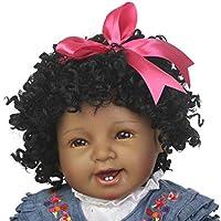 Sannysis シリコーン 人工女の子 人形 リボーンドール 幼児 赤ちゃん 22インチ ビニール製おもちゃ