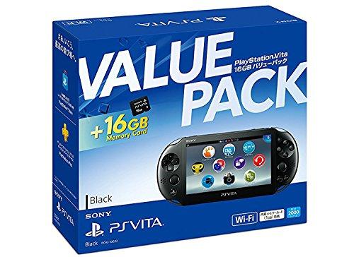 PlayStation Vita 16GB バリューパック ...