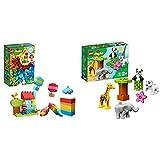 レゴ(LEGO) ブロック おもちゃ デュプロのいろいろアイデアボックス<DX> 10887 知育玩具 ブロック おもちゃ 男の子 &  デュプロ 世界のどうぶつ どうぶつの赤ちゃん 10904 知育玩具 ブロック おもちゃ 女の子 男の子【セット買い】