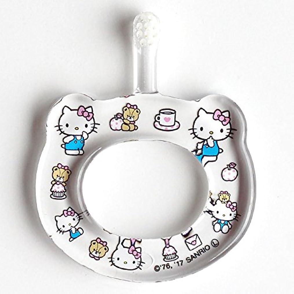気球軽蔑する人気のHAMICO ベビー歯ブラシ(キャラクター限定商品) ワンサイズ ハローキティ 水玉