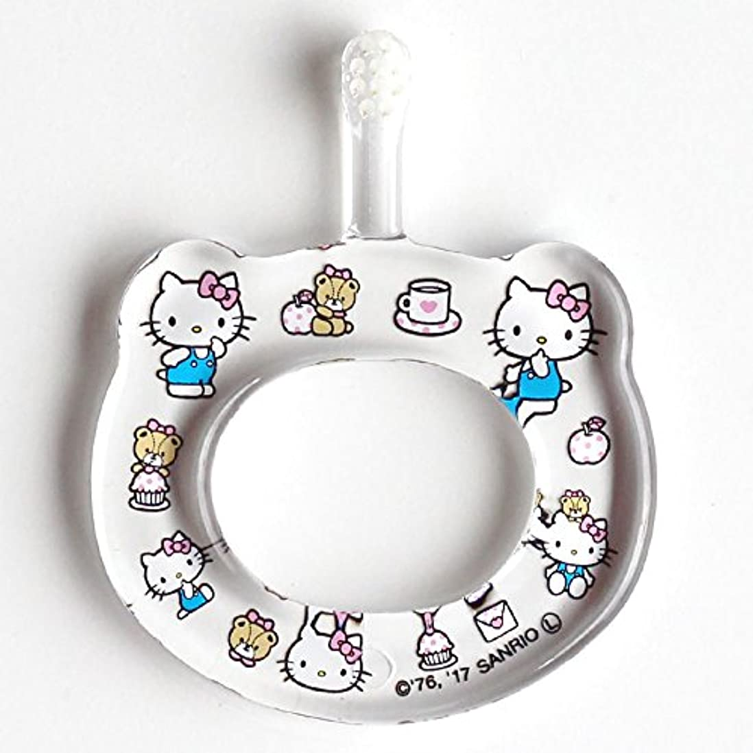 からかう引き金普通にHAMICO ベビー歯ブラシ(キャラクター限定商品) ワンサイズ ハローキティ 水玉