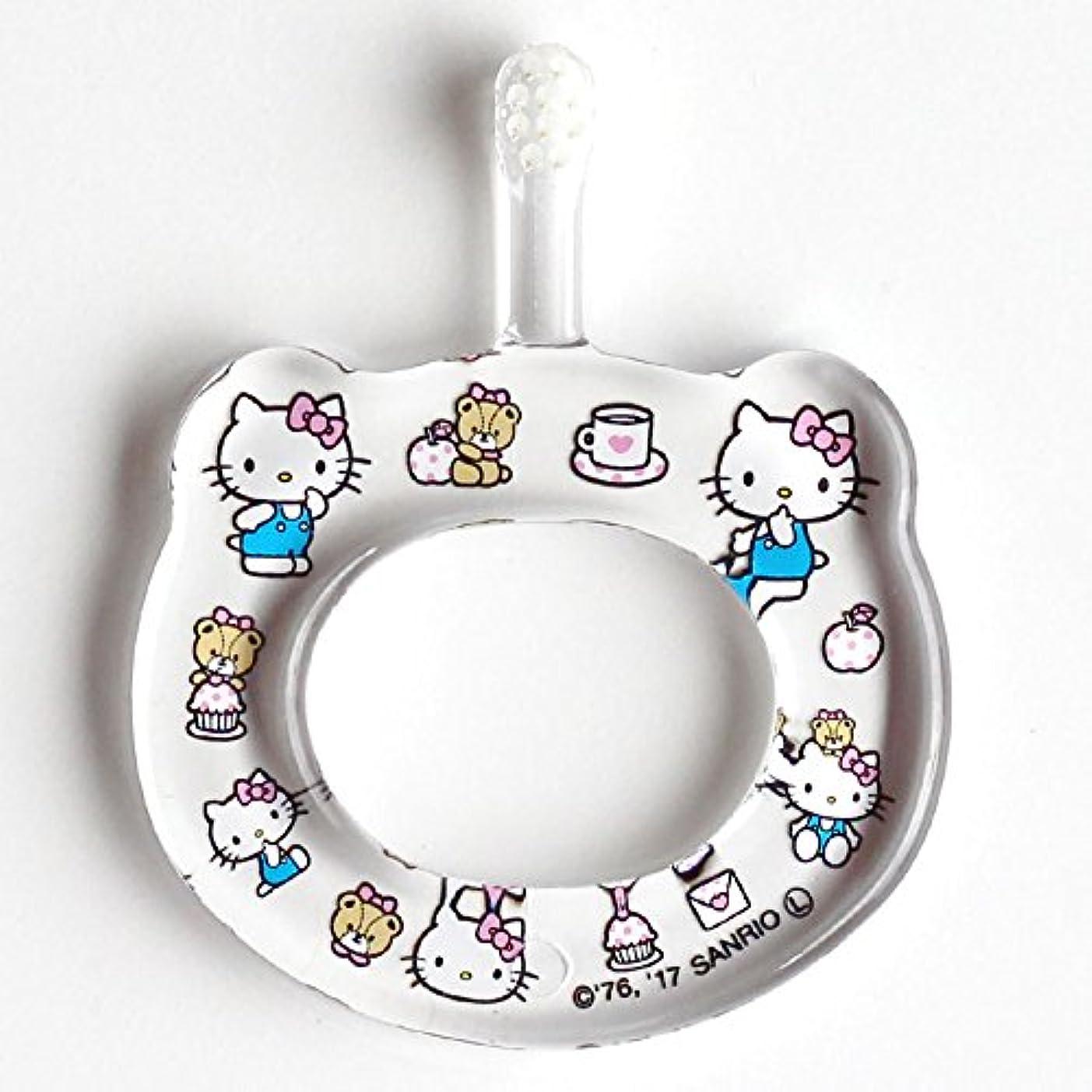 自分のあなたが良くなります抑制するHAMICO ベビー歯ブラシ(キャラクター限定商品) ワンサイズ ハローキティ 水玉
