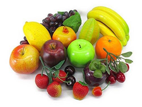 どっさり フルーツ 果物 模型 食品サンプル 15種類セット ディスプレイなどに (Aセット)