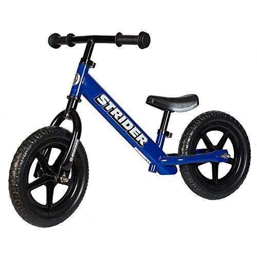 STRIDER(ストライダー) 12 クラシック バランスバイク18ヶ月から3歳に最適 ブルー [並行輸入品]