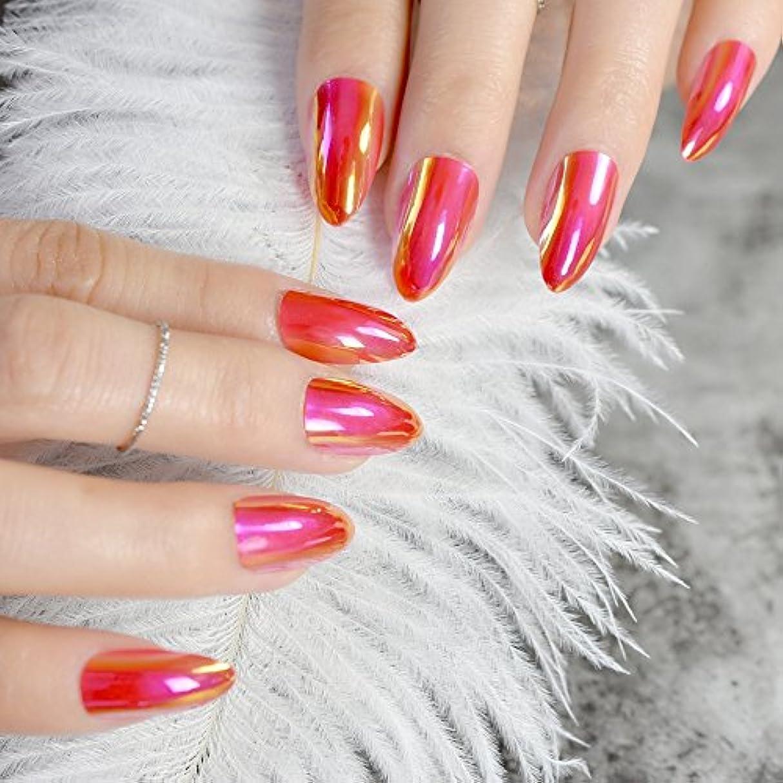 無能ハング締めるXUTXZKA 女性の指のための爪のマニキュアのヒントにブラックカバーネイルシルバーメタリックライン装飾短押し