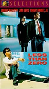Less Than Zero [VHS]