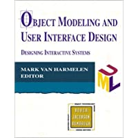 Object Modeling User Interface Design (Addison-wesley Object Technology Series)