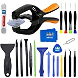 MMOBIEL 23 in 1 Professional Opening Plier Toolkit Screwdriver Repair Set Spudger compatible for Smartphones Tablets
