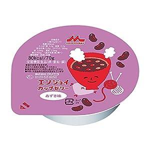 エンジョイカップゼリー (栄養補助食品) あずき味 24個入 /7-2687-03