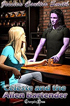 Celeste and the Alien Bartender (Intergalactic Brides 8) by [Smith, Jessica Coulter]