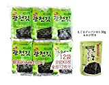「韓国のり 光天のり 12パック×10袋 1BOX ごま油海苔 韓国産 人気商品 韓国味付けのり」の画像