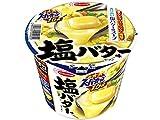エースコック 三つ星スーパーカップ1.5倍 塩バター味ラーメン 108g×12個