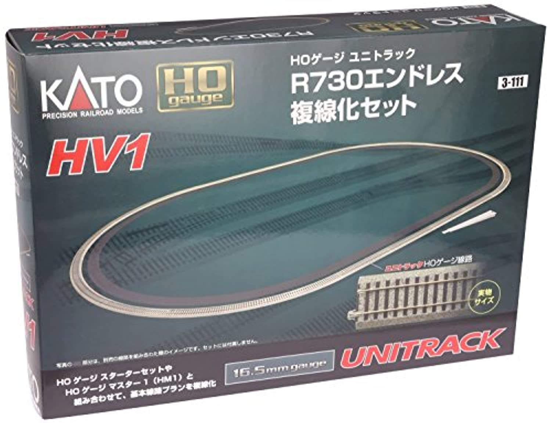 Kato USA Model Train Products HV1 UNITRACK R730mm Outer Oval Track [並行輸入品]