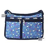 レスポートサック バッグ 7507 D916 SONG BIRDS BLUE 斜め掛け ショルダーバッグ Deluxe Everyday Bag デラックスエブリデイ ag-904900