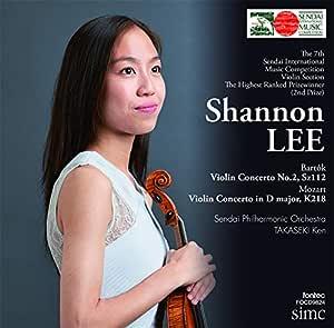 第7回仙台国際音楽コンクール ヴァイオリン部門最高位 シャノン・リー