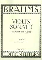 BRAHMS - Sonata Op. 78 en Sol Mayor para Violin y Piano (Flesch/Schnabel)