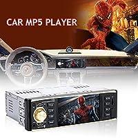マルチメディアプレーヤーカーMP5 4019Bリモコン付き4.1インチUSB AUX MP3