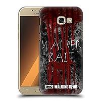 オフィシャルAMC The Walking Dead Walker Bait タイポグラフィ Samsung Galaxy A5 (2017) 専用ハードバックケース