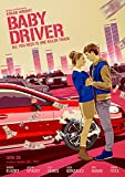 映画 ベイビー・ドライバー ポスター 42x30cm Baby Driver 2017 ベイビー ドライバー アンセル エルゴート リリー ジェームズ ケヴィン スペイシー ジェイミー フォックス [並行輸入品]