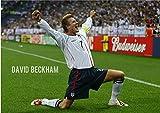 デビッド ベッカム ポスターサイズ:42x30cm  写真 David Beckham Real Madrid レアル・マドリード PSG LAギャラクシー イングランド