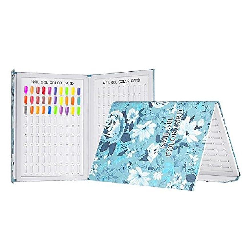 ドレイン美的がっかりしたDecdeal カラーチャート180色 ネイルカラーチャート ネイルチップディスプレイ ネイルジェル表示チャート ネイルアートサロンセット