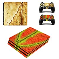 Zhhlinyuan 安定した品質 Skin Sticker Vinyl ステッカー Cover for PlayStatio PS4 Pro Console+Controllers 0126