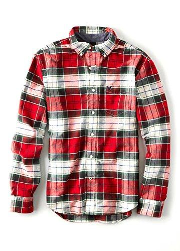 【アメリカンイーグル】 AMERICAN EAGLE スリムオックスフォードシャツ AEO Slim Oxford Plaid Button Down Shirt SK9159 【並行輸入品】 PFARARA