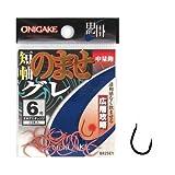 ハヤブサ(Hayabusa) 鬼掛 広層グレ のませ 5号 オキアミオレンジ B825E1-5