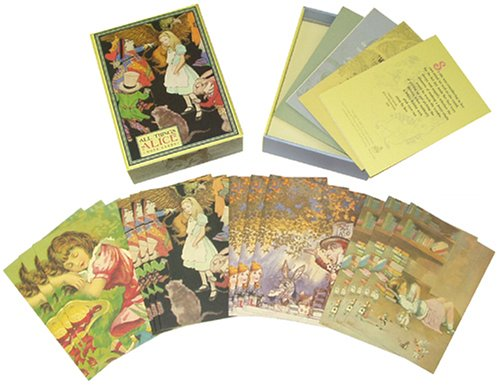 All Things Alice Small Note Cards