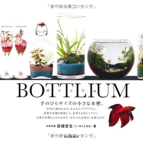 BOTTLIUM ボトリウム-手のひらサイズの小さな水槽-の詳細を見る