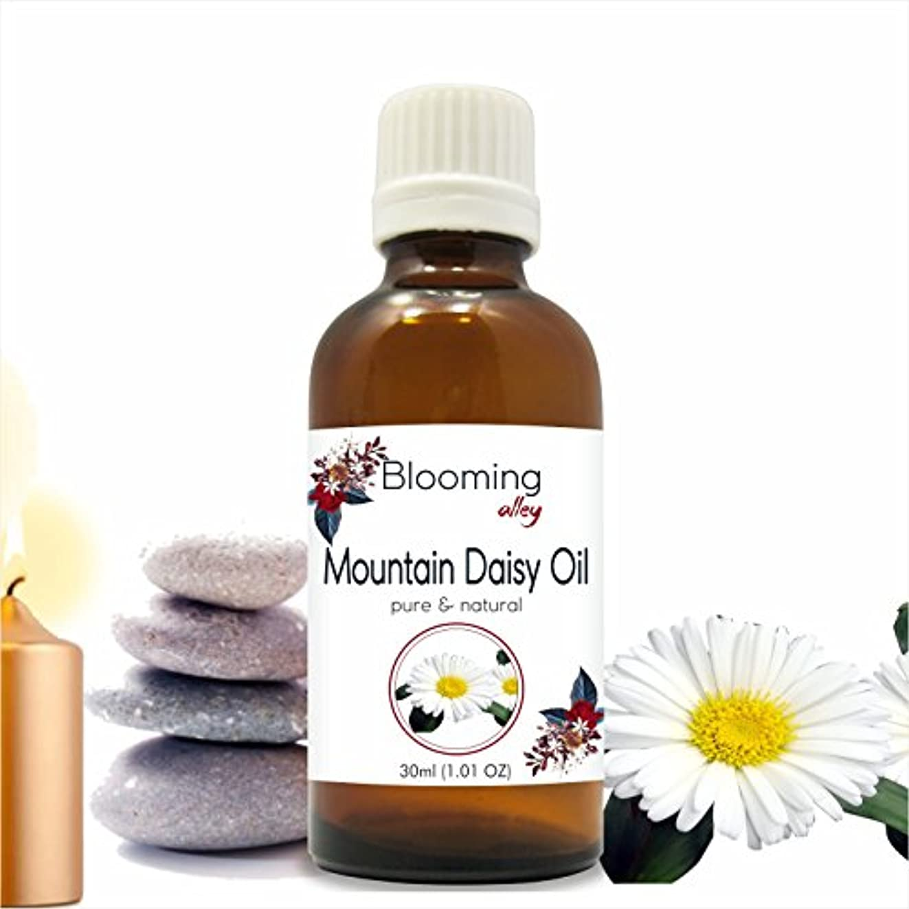 意図的ローラーストラップMountain Daisy Oil (Celmisia Semicordata) Essential Oil 30 ml or 1.0 Fl Oz by Blooming Alley