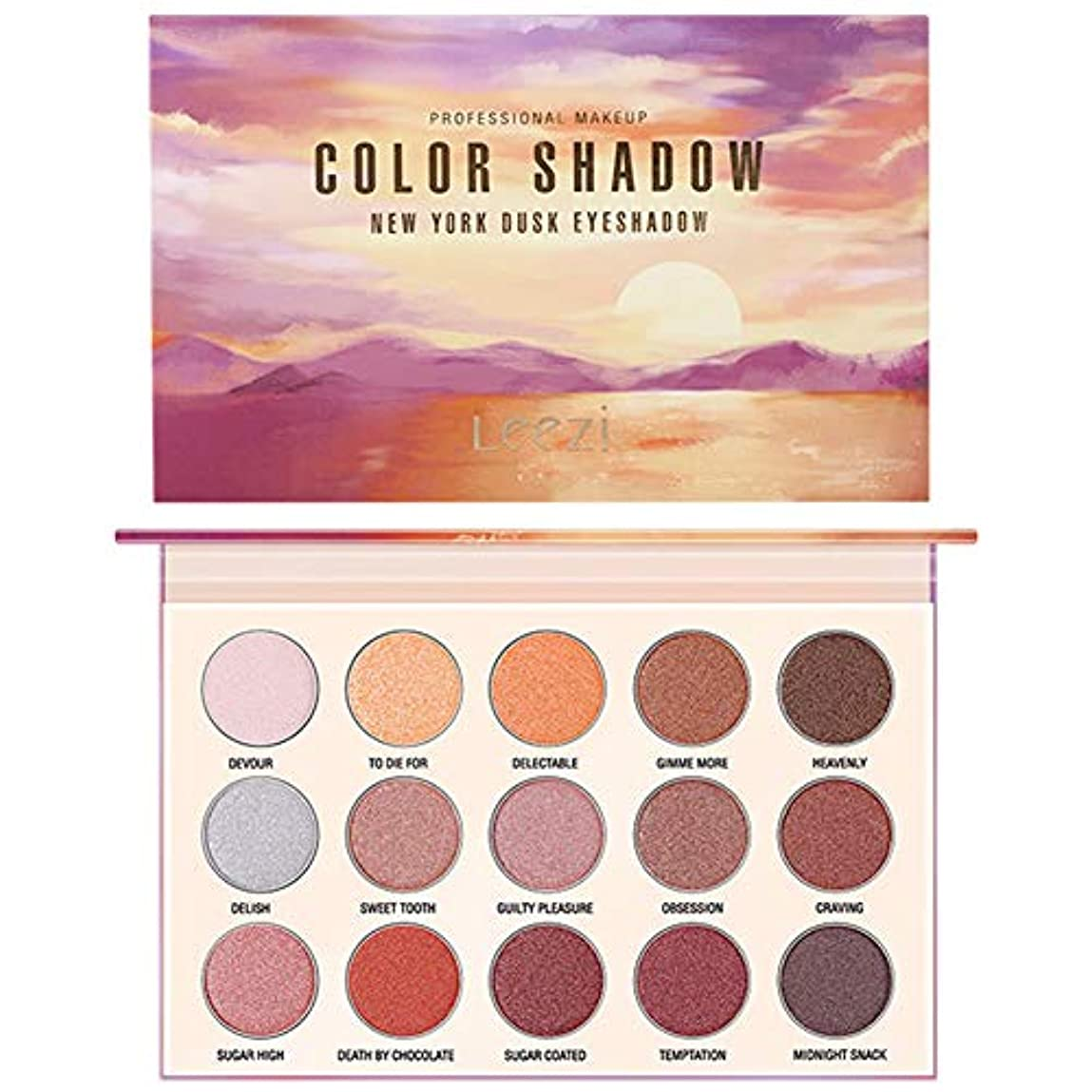 正気仕方カメラアイシャドウパレットGee-rgeous 15色マットシマーアースカラー丈夫な美しさ高度に着色された繊細な化粧品防水